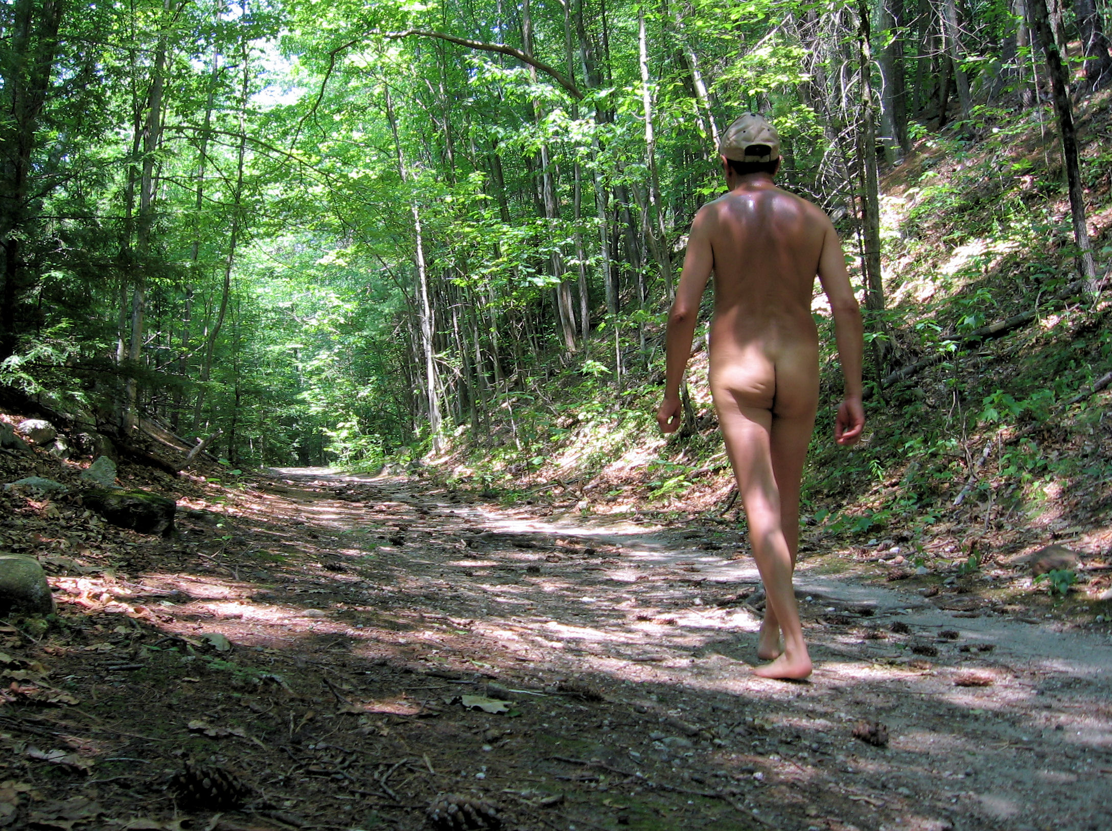 Naked in the Woods - Free Porn Videos - YouPorn