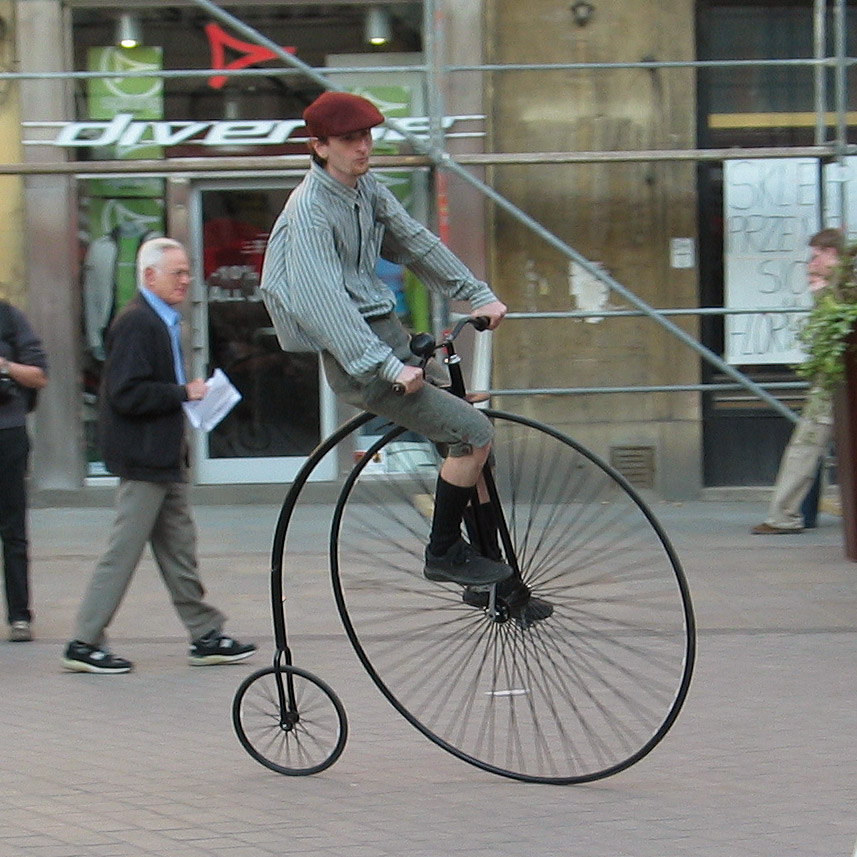 Bikes For Tall Men For Sale Penny farthings are still
