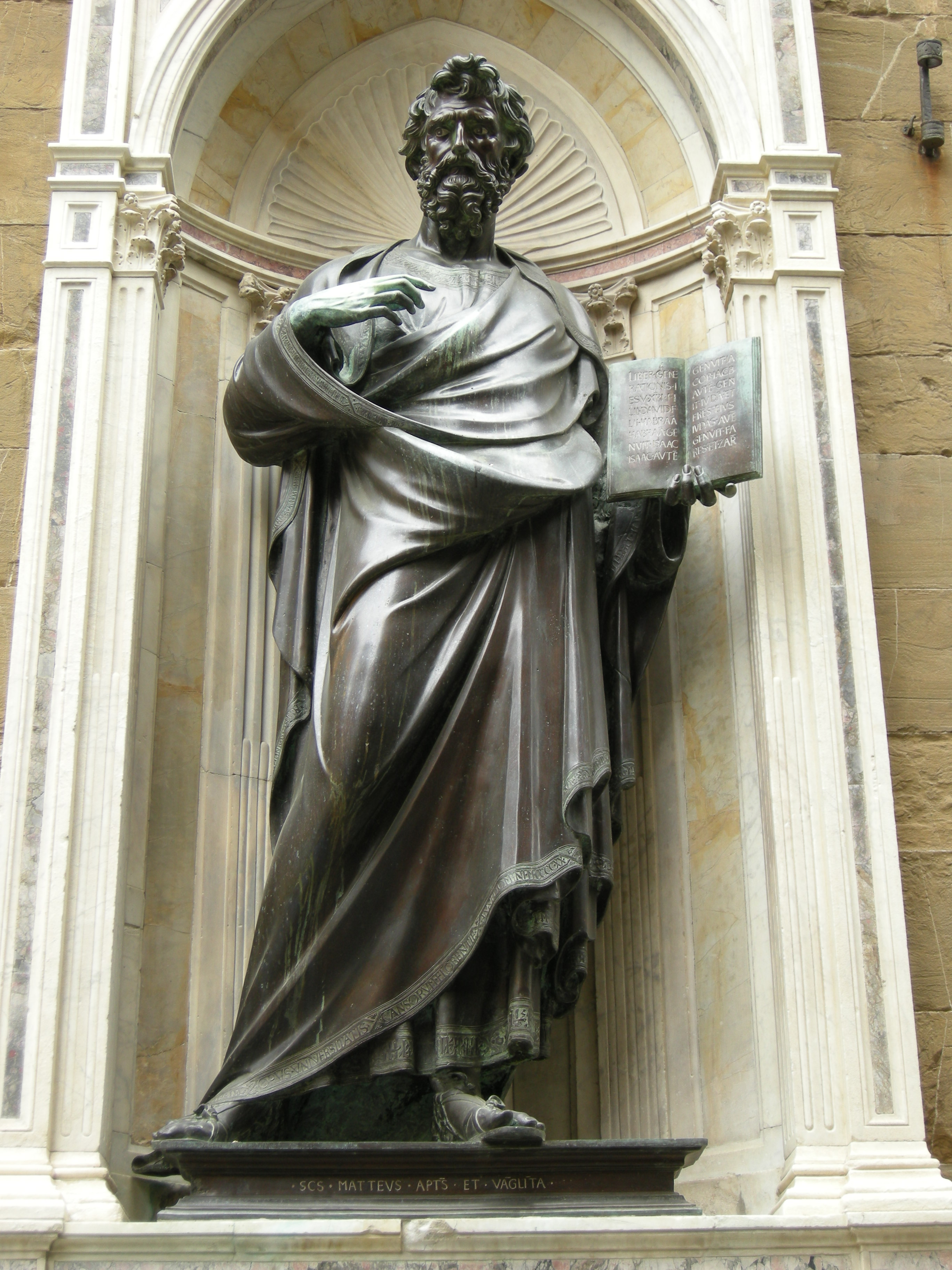 File:Orsanmichele, san matteo di Ghiberti 03.JPG ...