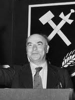 Otto Strasser, leader of the German Social Union, returned from exile to Germany in the mid-1950s.