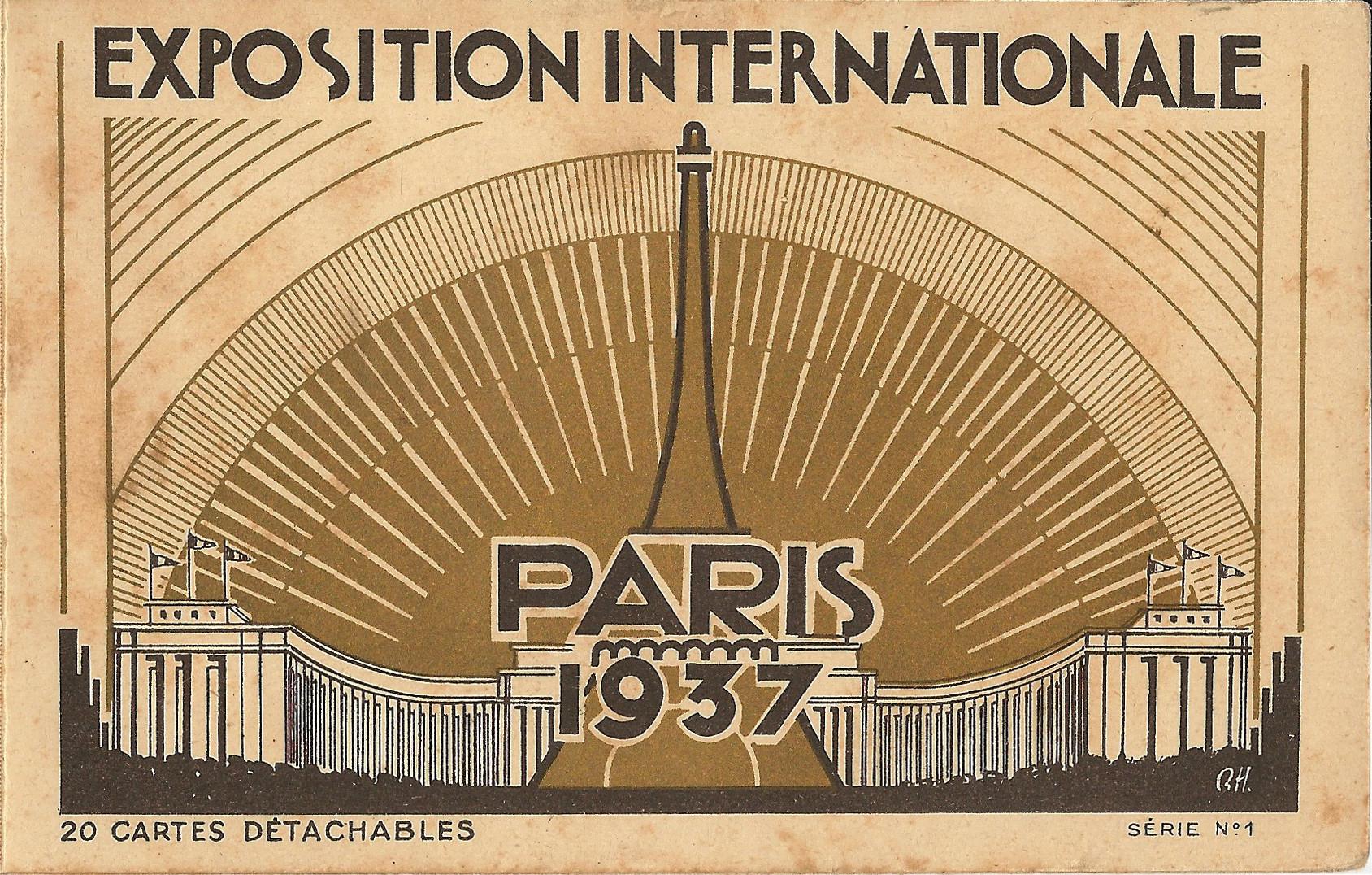 1937 Paris Exposition