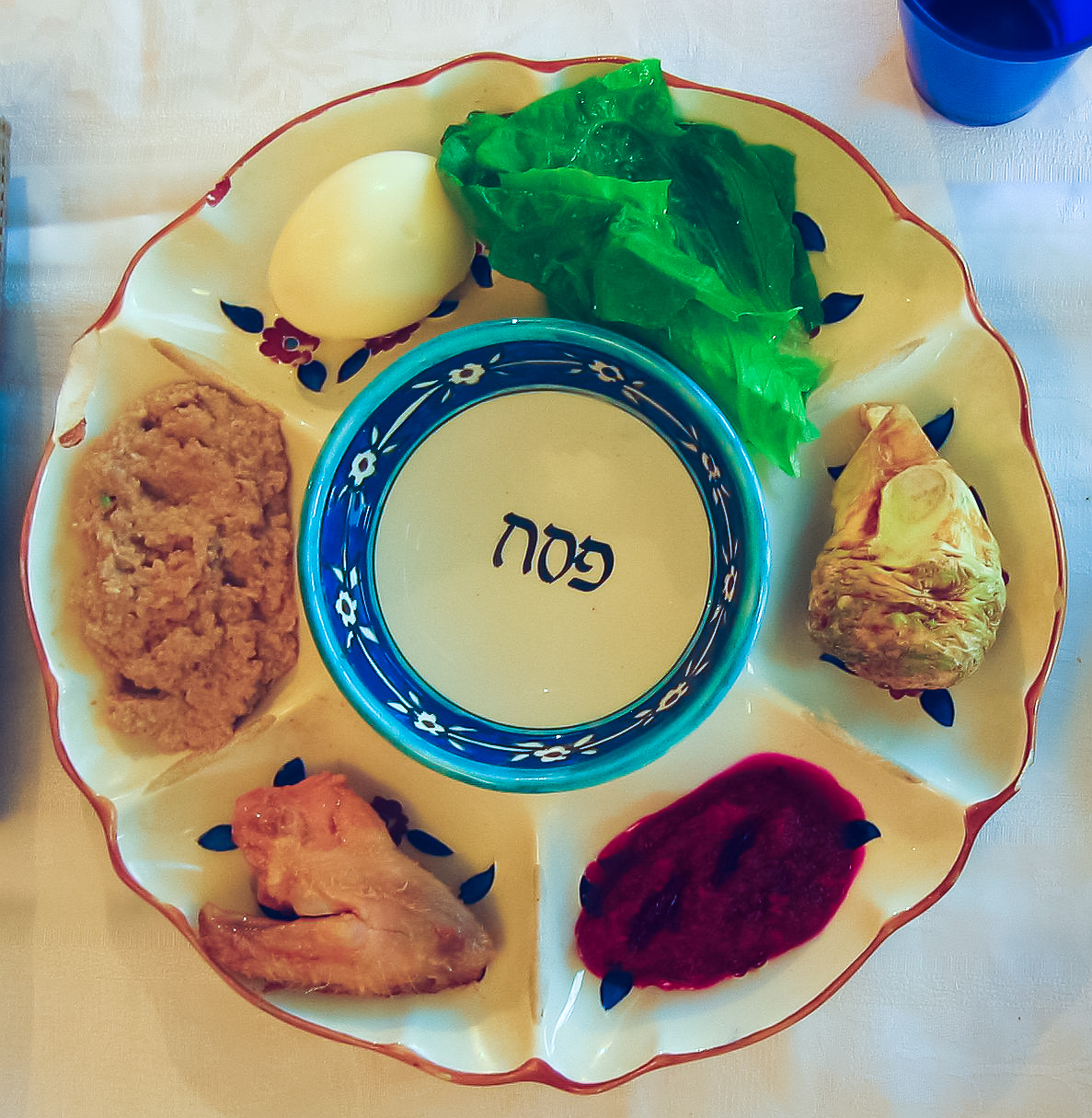 Passover Seder plate - Wikipedia