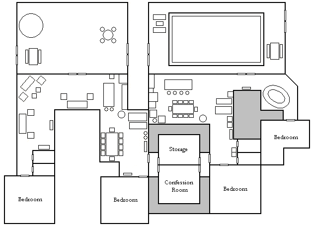 File pinoy big brother house floor wikimedia House drawing plan layout