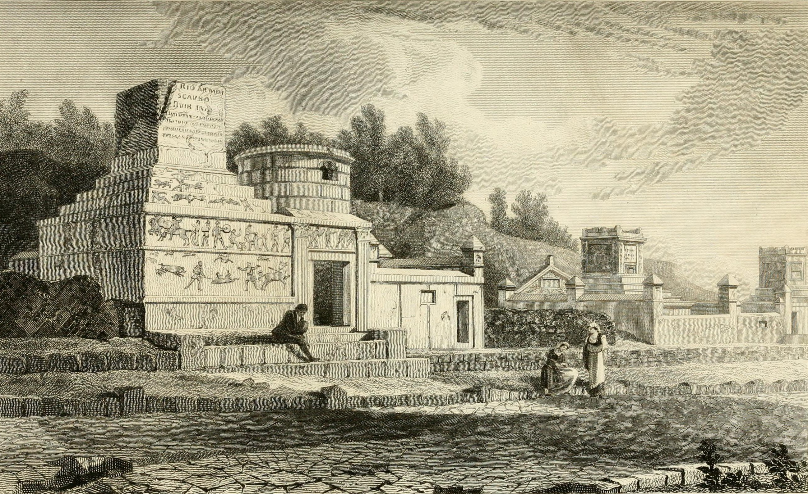 Файл:Pompeiana - the topography, edifices, and ornaments of Pompeii (1817)