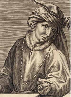 Portrait of Jan van Eyck.