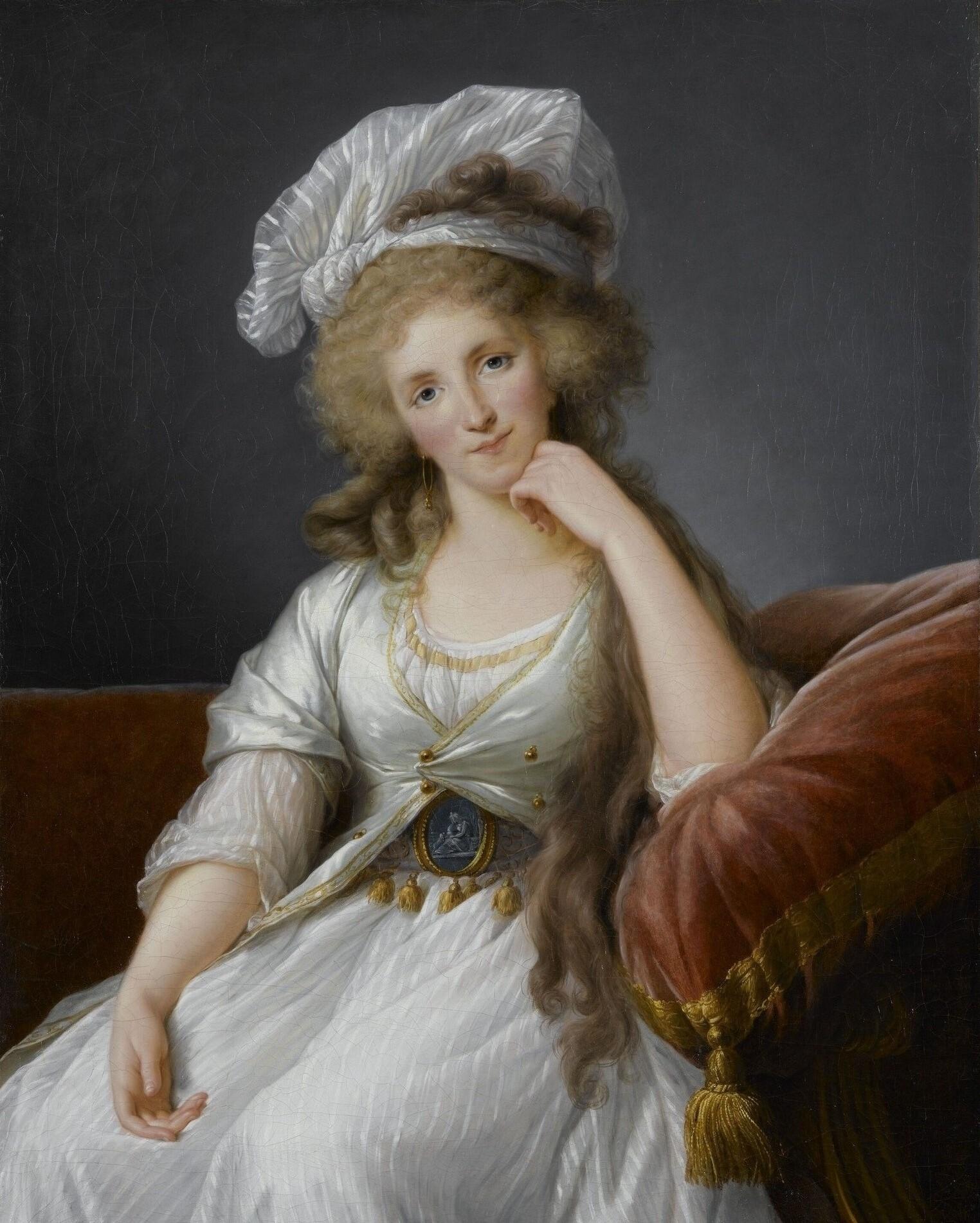 Fichier:Portrait of Louise Marie Adélaïde de Bourbon by Vigée ...