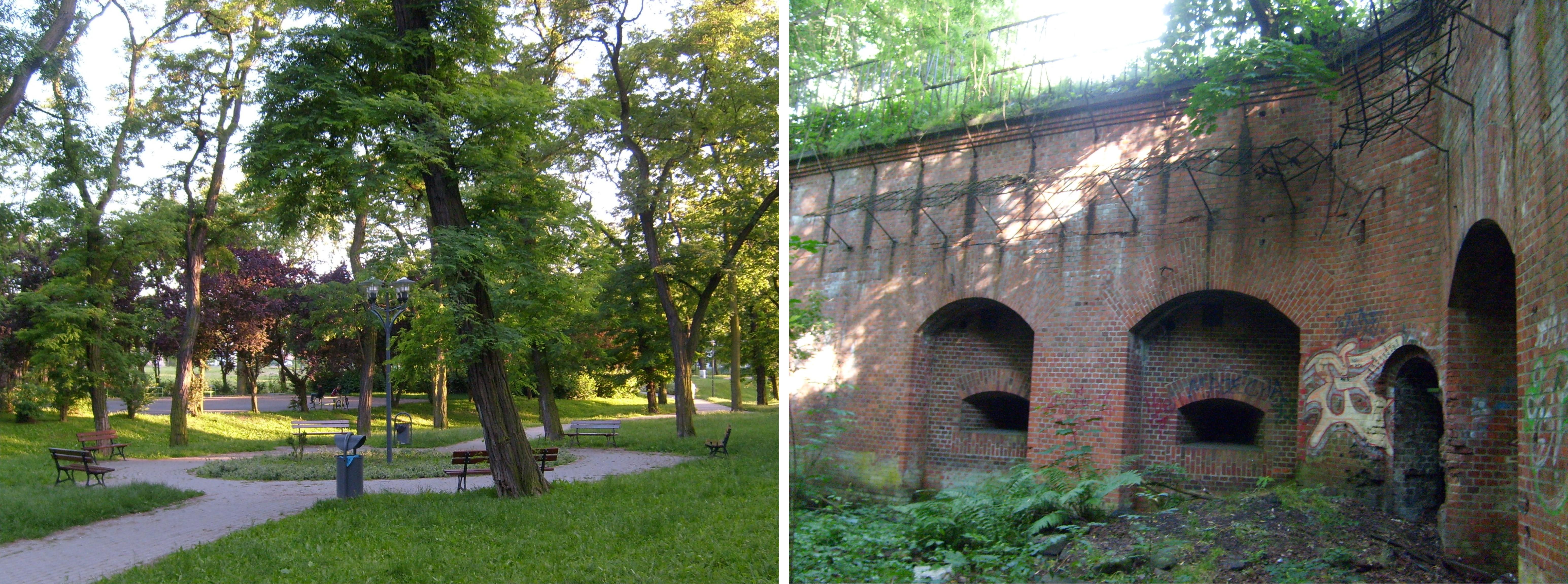 File Raszyn Poznan Park I Fort Viiia Jpg Wikimedia Commons