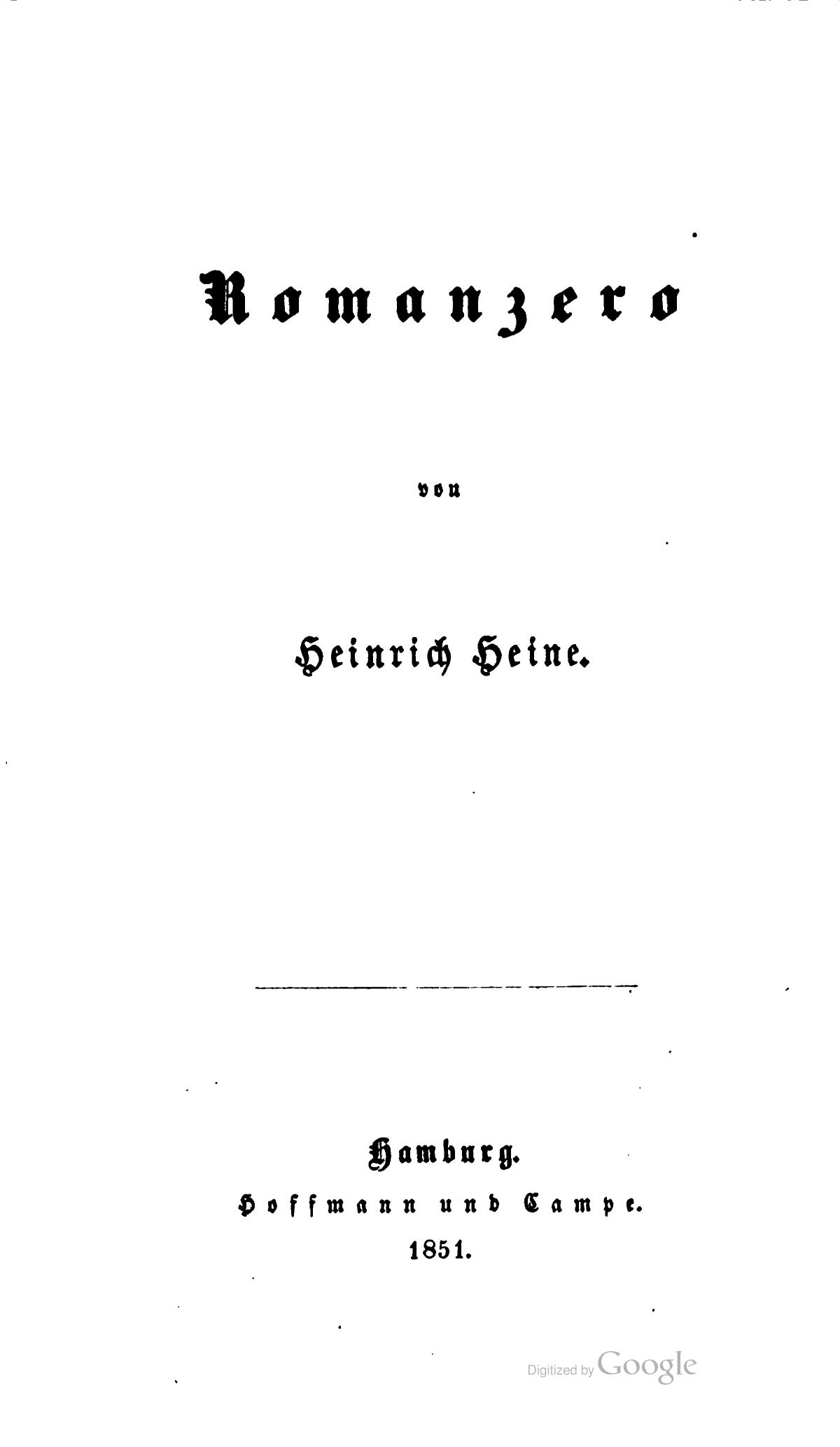hübsch und bunt professioneller Verkauf günstig Fichier:Romanzero (Heine 1851) A 001.jpg — Wikipédia