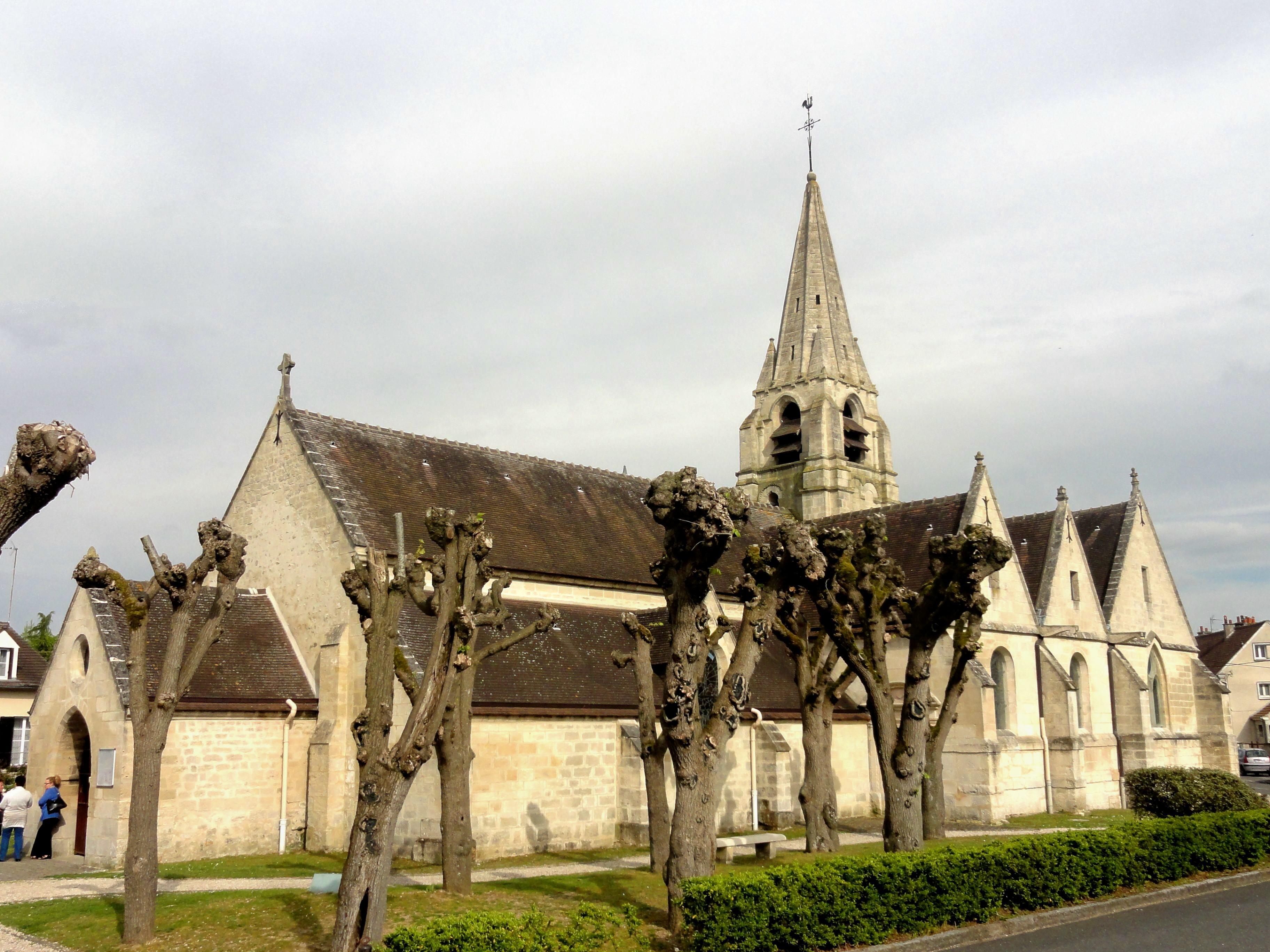 église Saint Maximin de Saint Maximin Oise Wikiwand