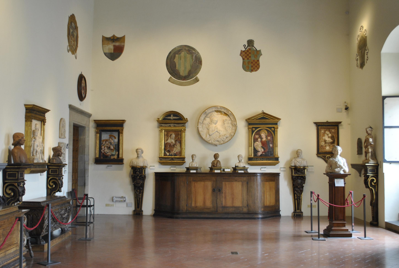Sala del Verrocchio museo nazionale del Bargello Firenze.jpg