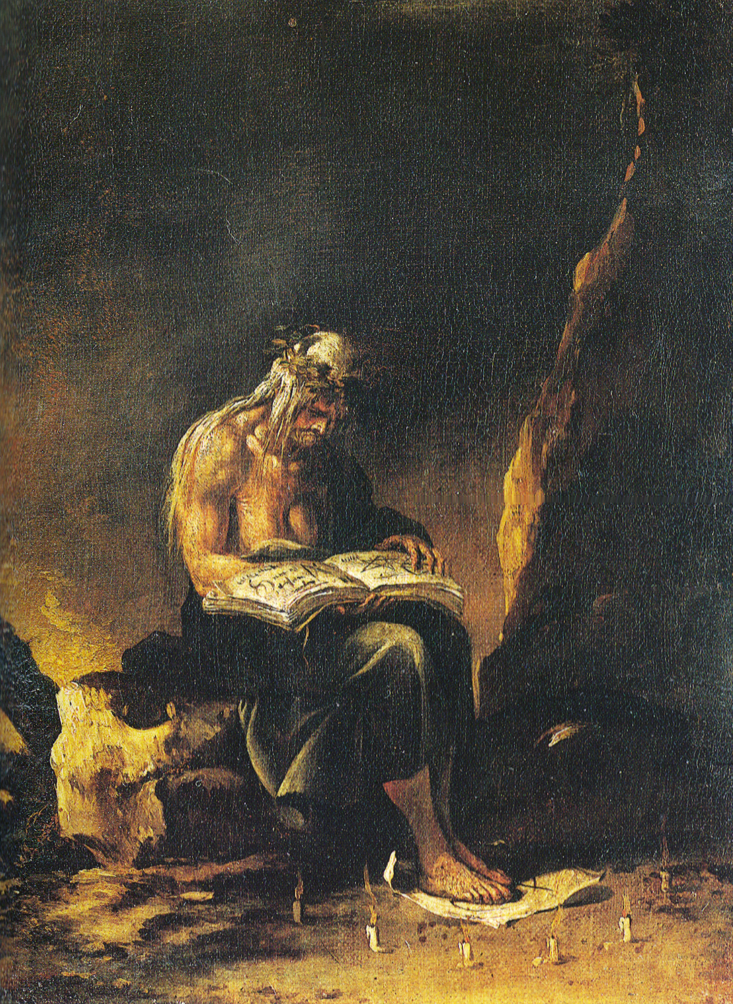 The Witch, von Salvator Rosa (1646), Public Domain