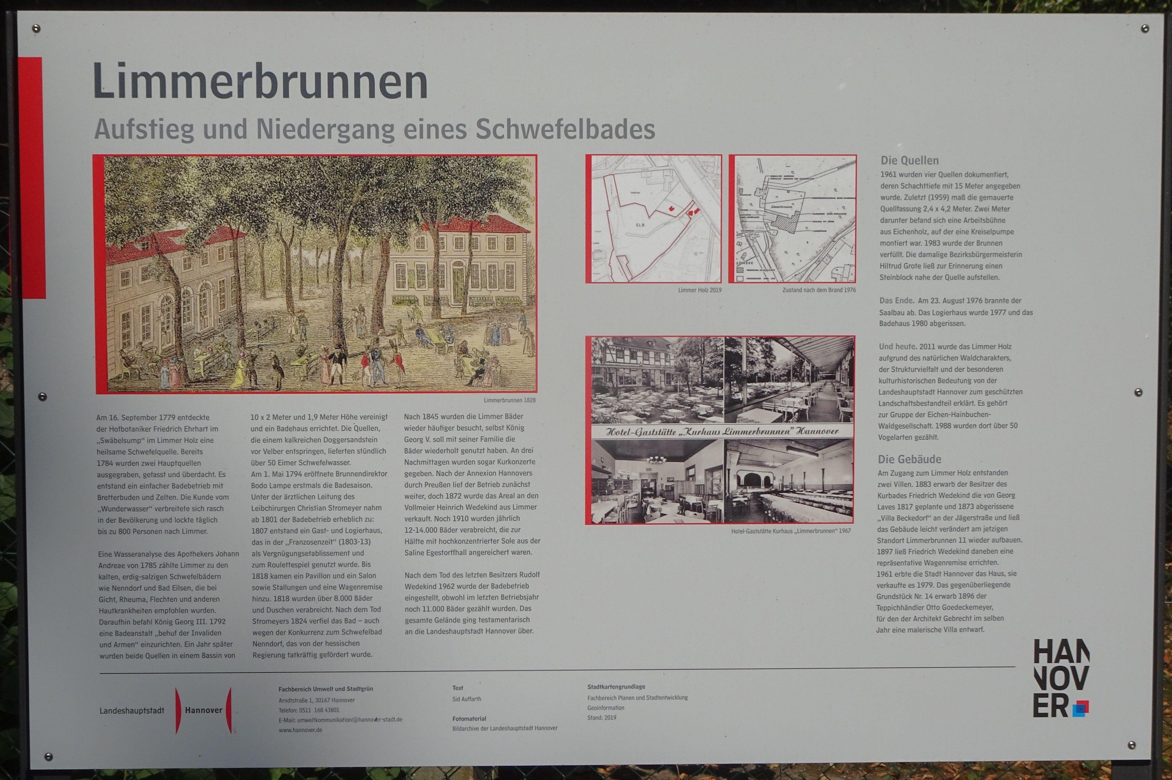 Limmerbrunnen Wikipedia