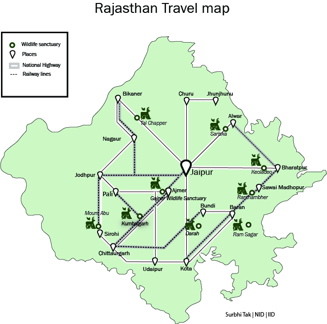 Tourist Map Of Rajasthan Tourism in Rajasthan   Wikipedia