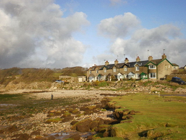 Shore Cottages, Silverdale - geograph.org.uk - 1096792