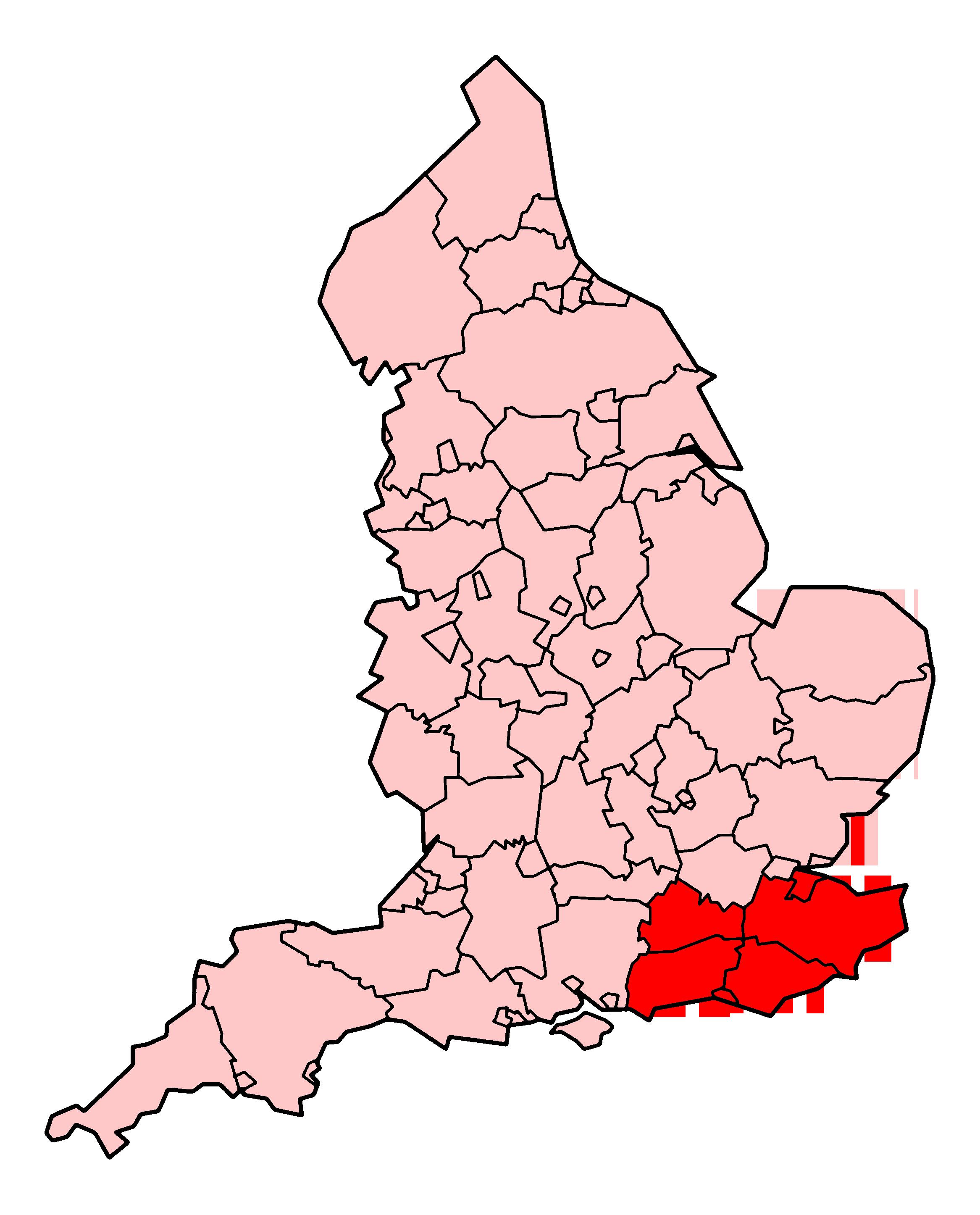 Map Of England East Coast.South East Coast Ambulance Service Wikipedia