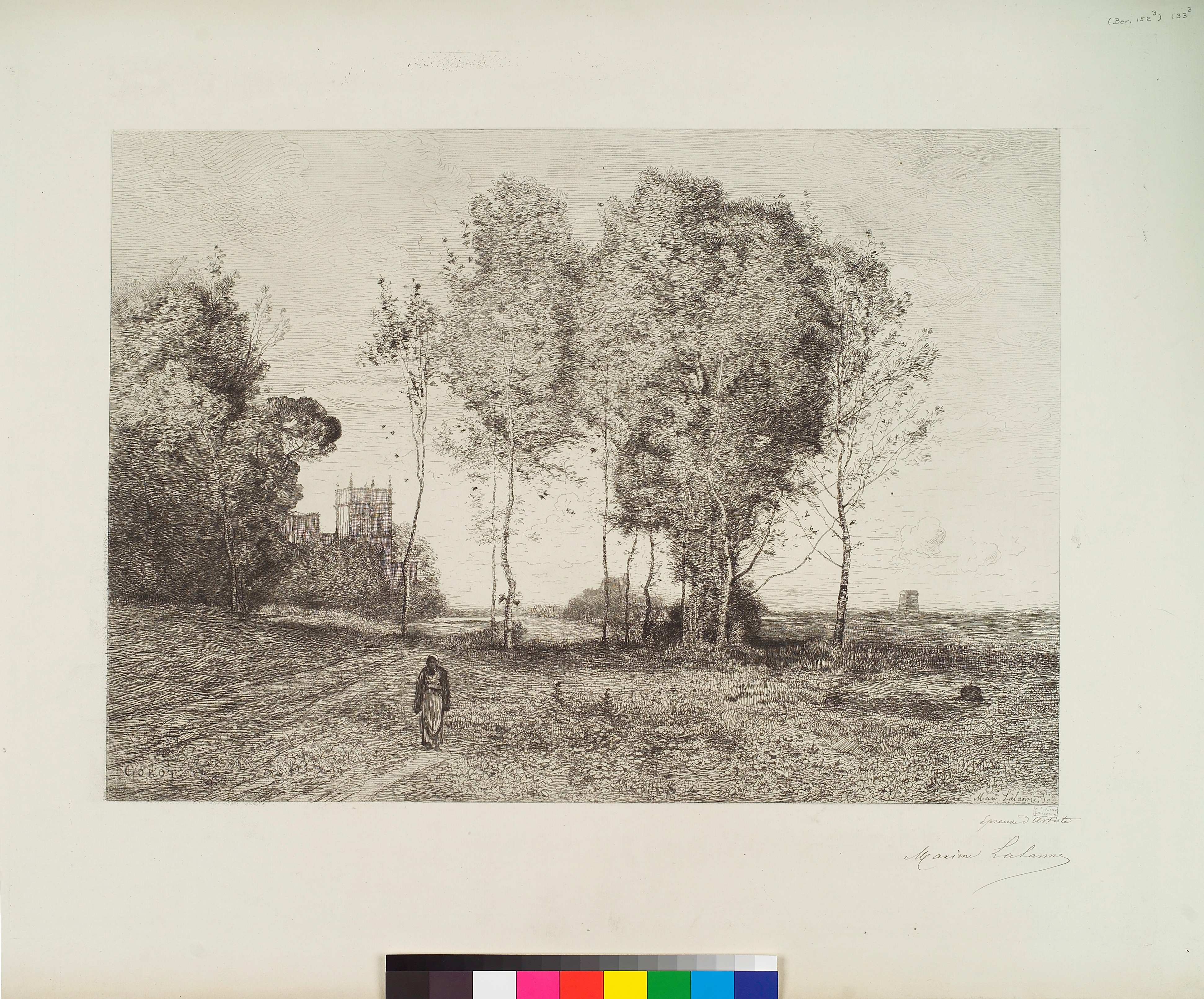 File:Souvenir d\'Italie d\'apres Jean-Baptiste-Camille Corot ...