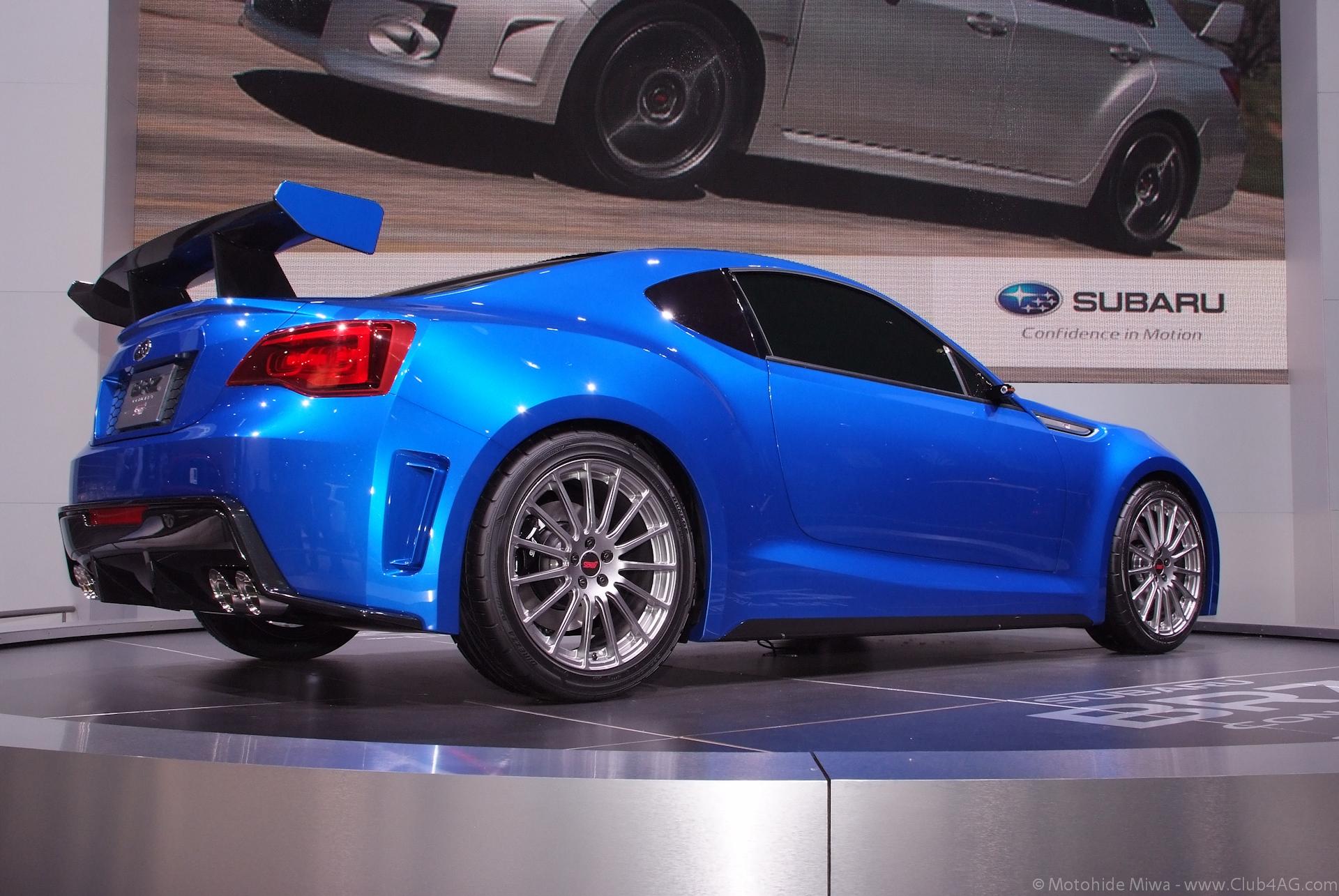 File:Subaru BRZ STi Concept - Flickr - Moto@Club4AG (1 ...