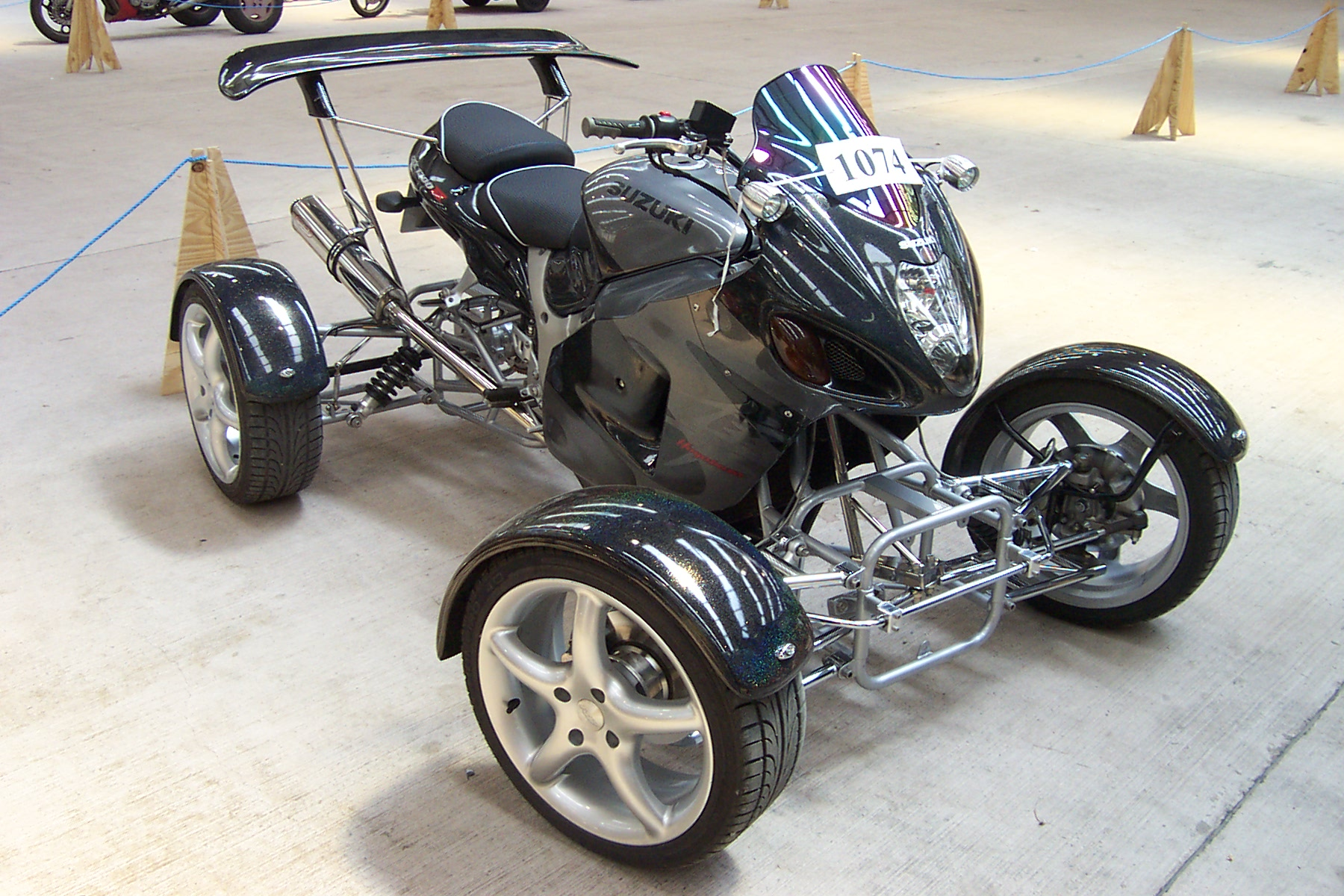Ducati License Plate Holder