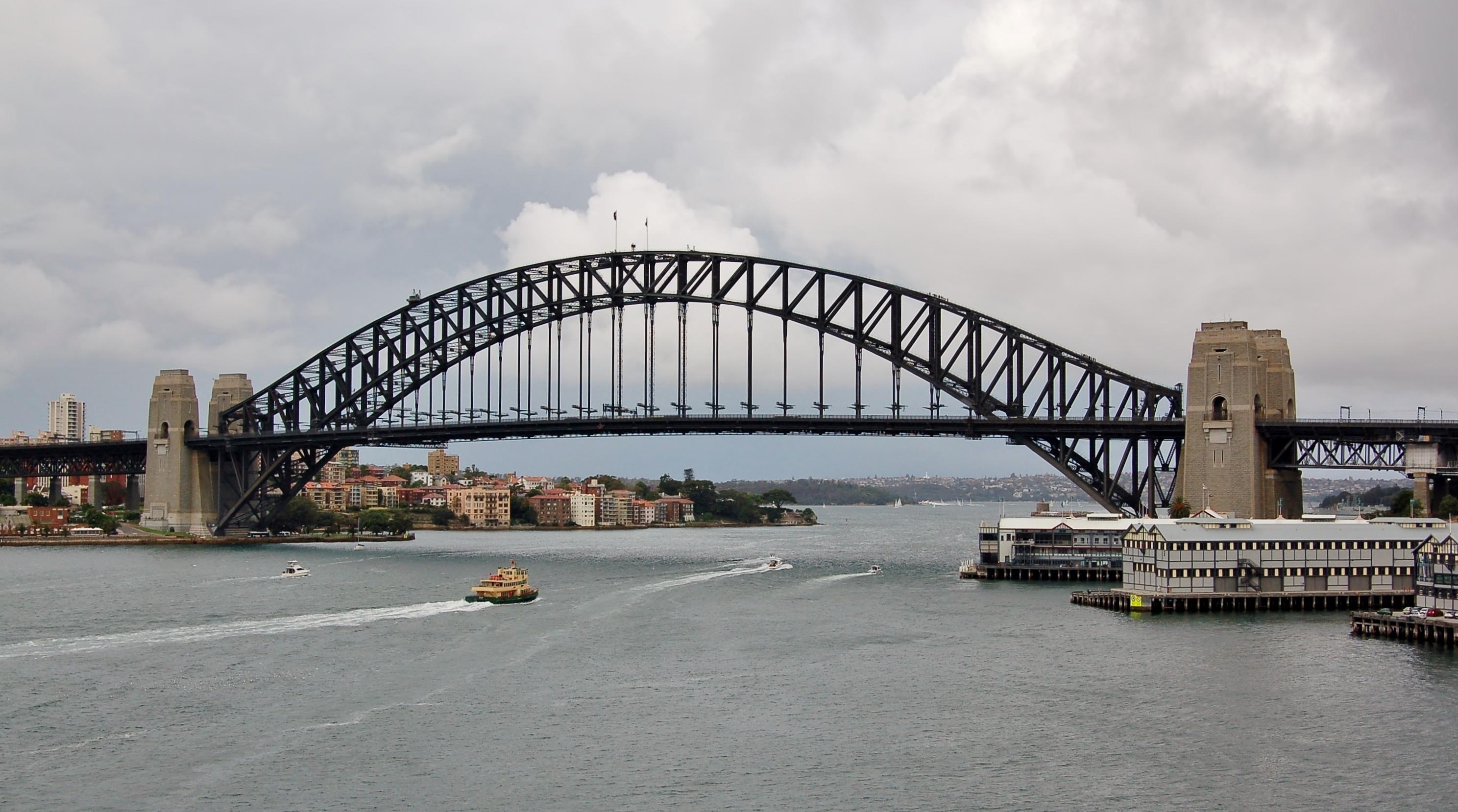 Sydney Harbour Bridge Commemorative Car Plate
