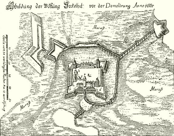 Székelyhíd vára 1665