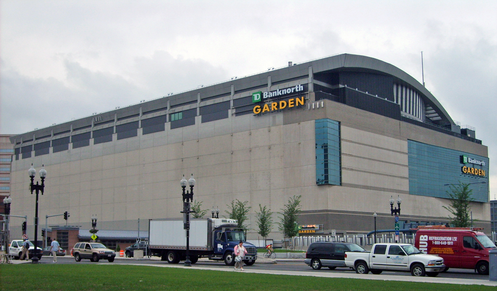 Pin Td Garden Boston Celtics On Pinterest
