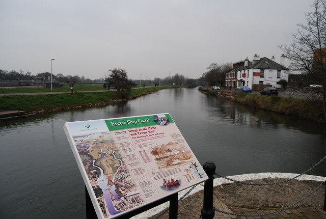 The Exeter Ship Canal - geograph.org.uk - 1110789
