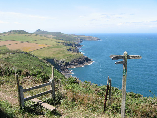 The North side of St David's Head - geograph.org.uk - 700928
