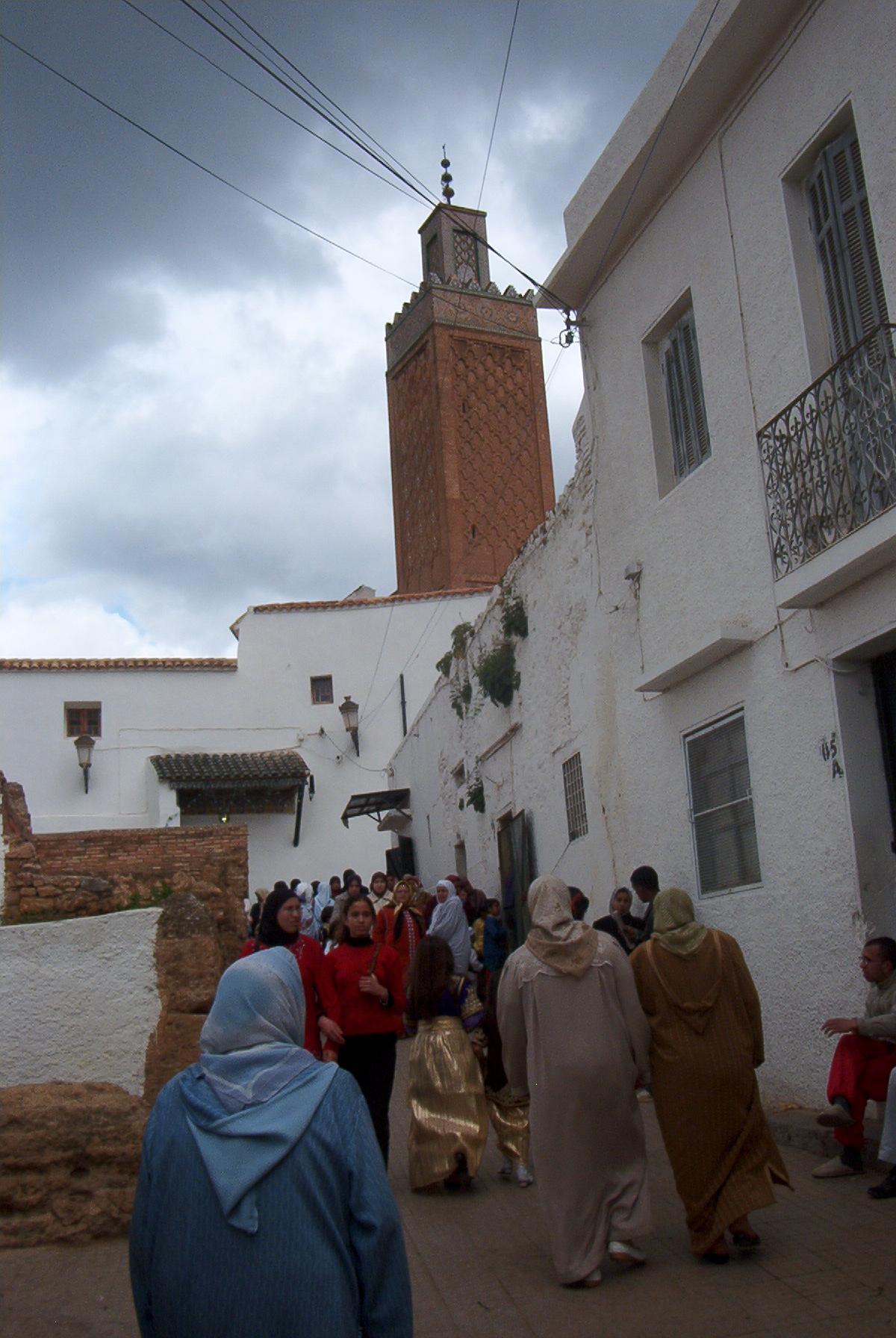 Sidi Boumediene Mosque...