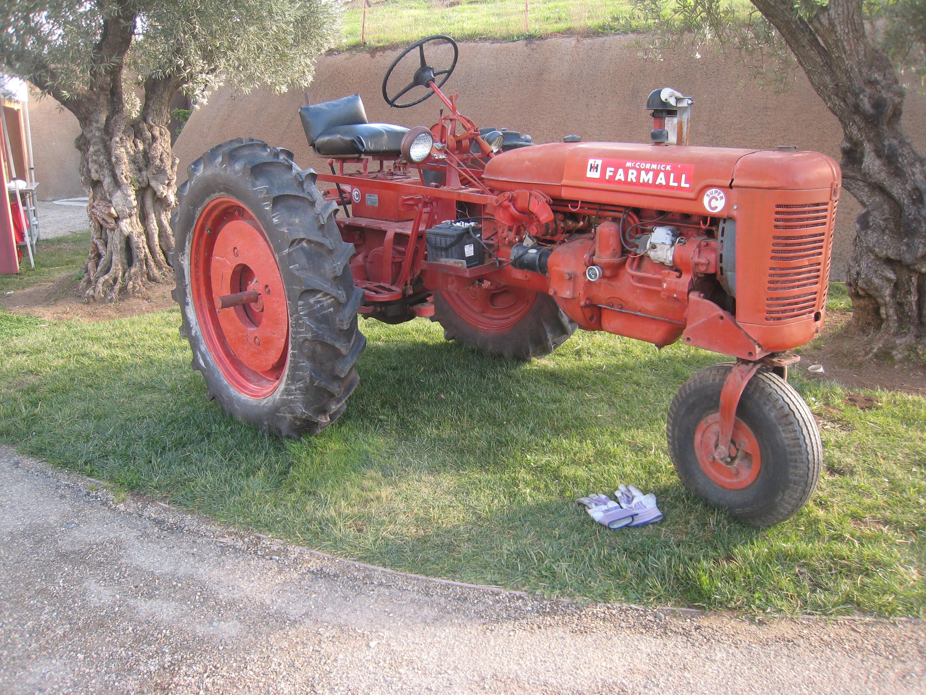 roues de tracteur agricole - photo #15