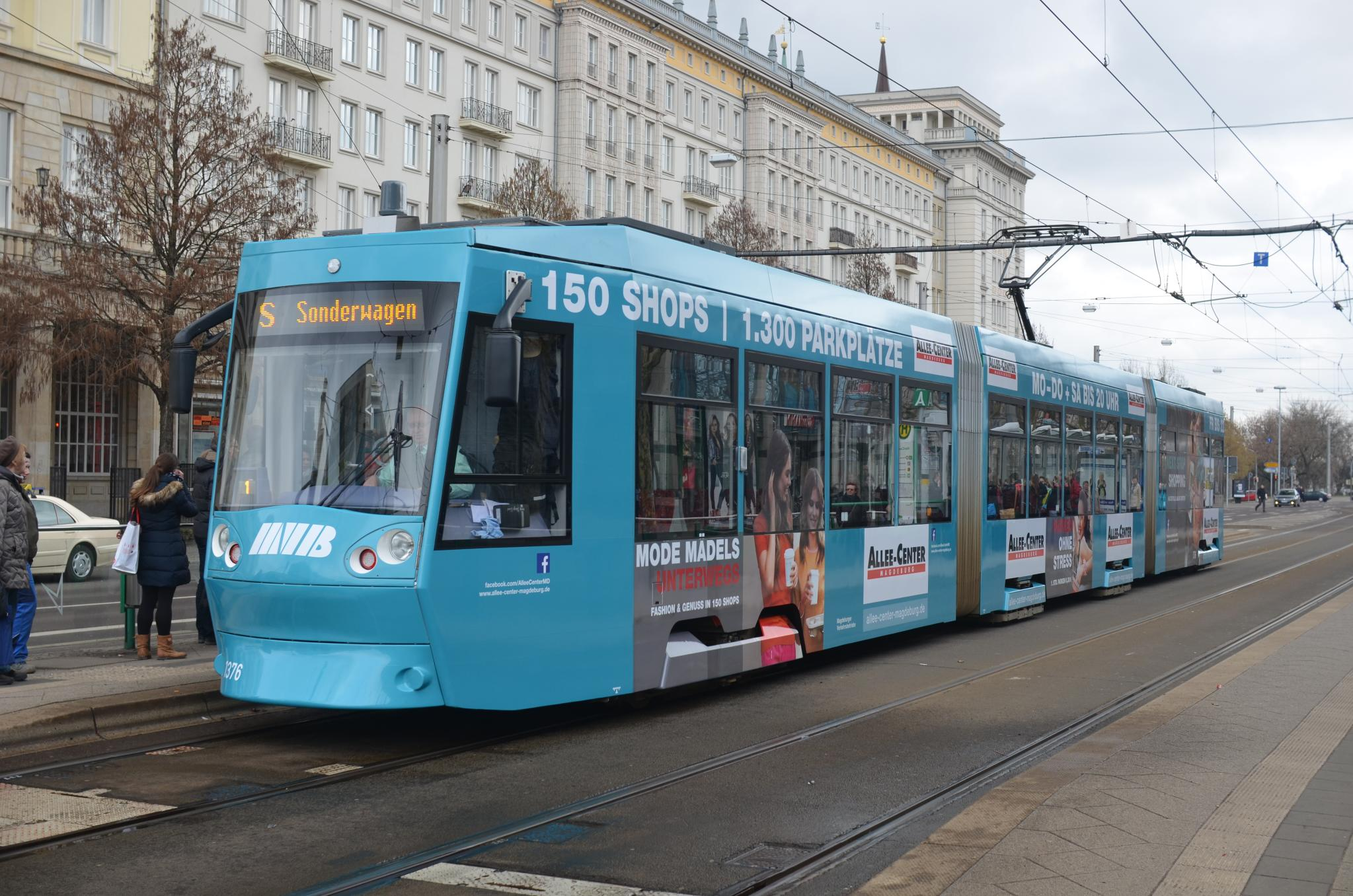 file tram in magdeburg tw wikimedia commons. Black Bedroom Furniture Sets. Home Design Ideas