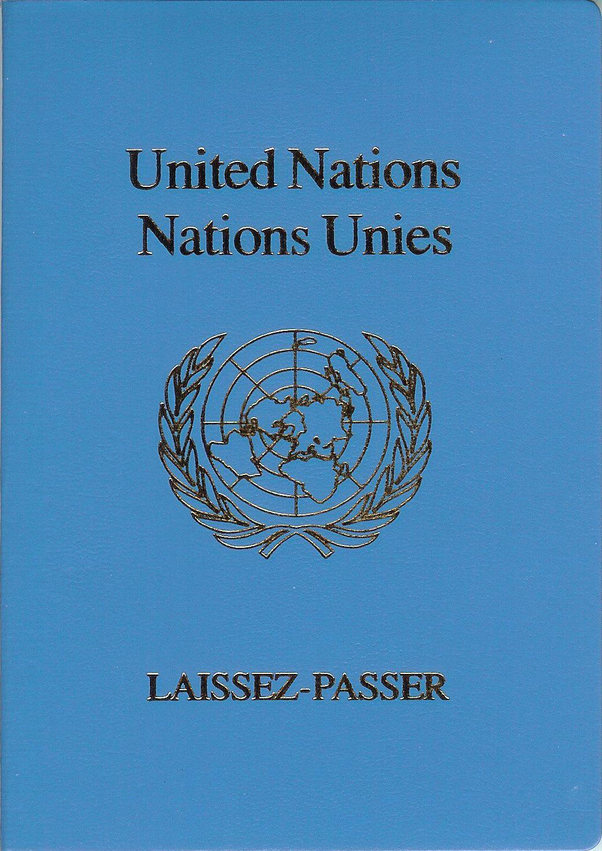 united nations laissez passer wikipedia