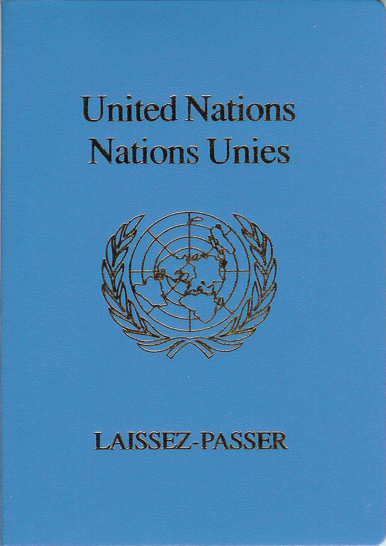 united nations laissez-passer