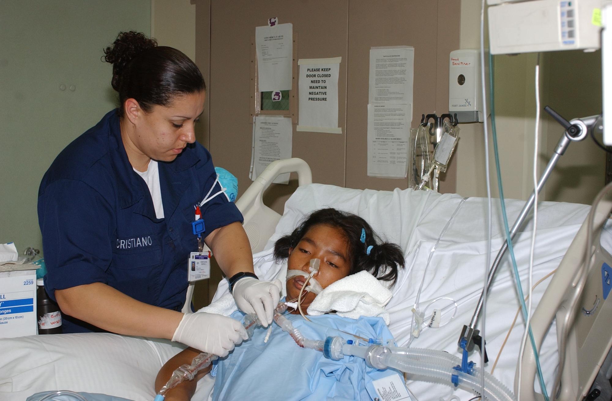 oral care to unconscious patient