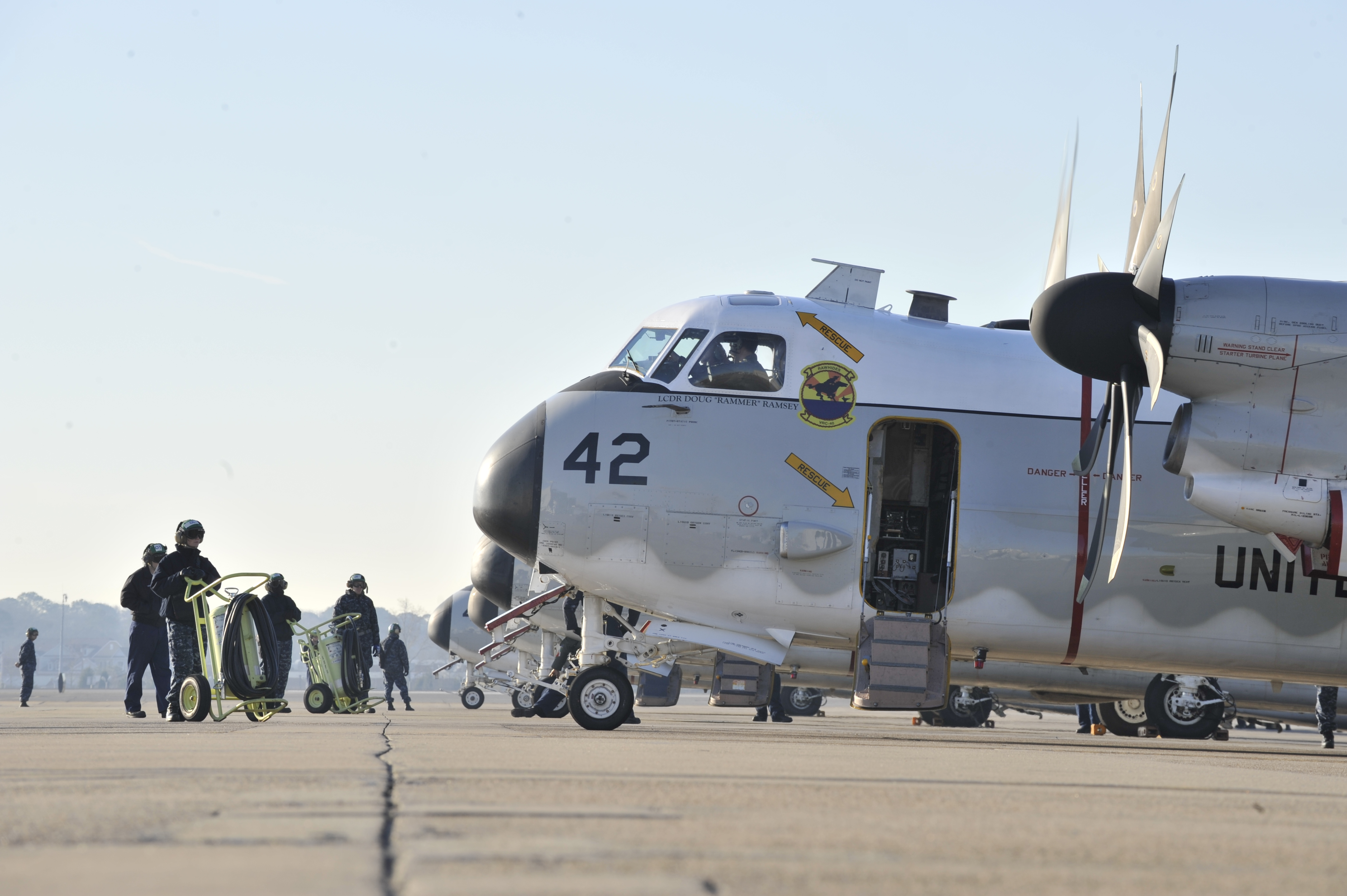 C 2a Greyhound Logistics Aircraft File:US Navy 100114-N-...