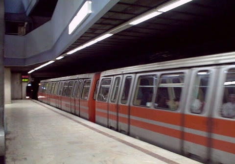 An Astra IVA train at Universitate station