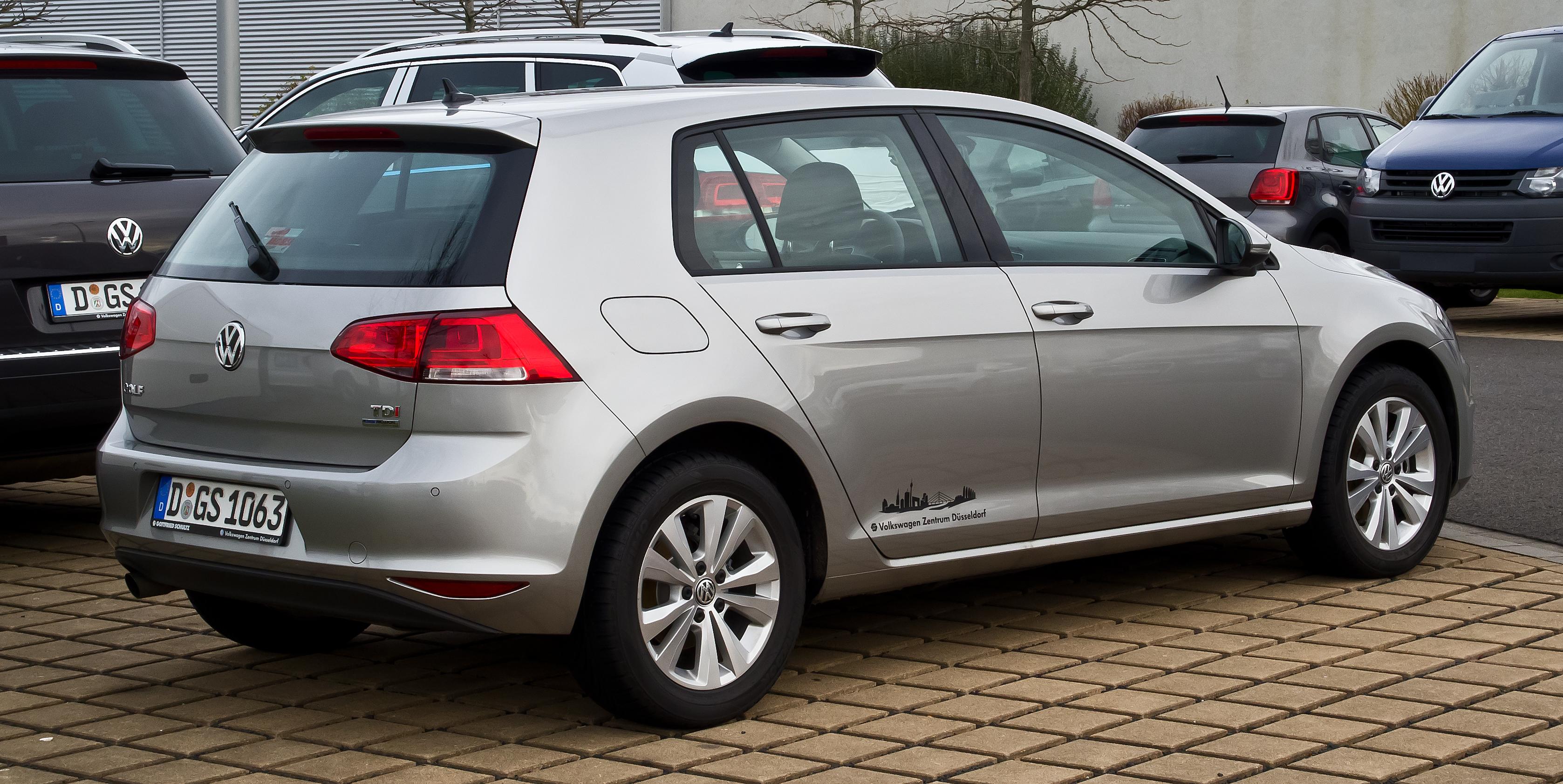 Description VW Golf 1.6 TDI BlueMotion Technology Comfortline (VII