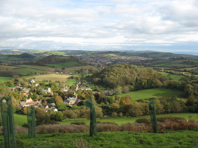 View East from summit of Colmers Hill - geograph.org.uk - 1198289