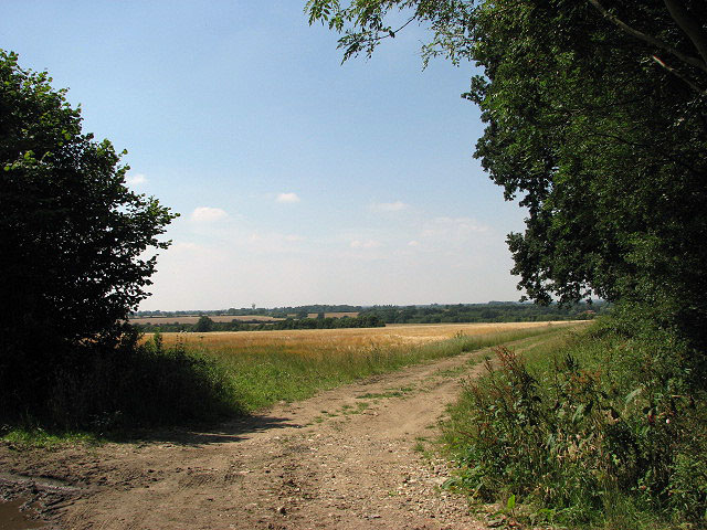 View across fields - geograph.org.uk - 895754