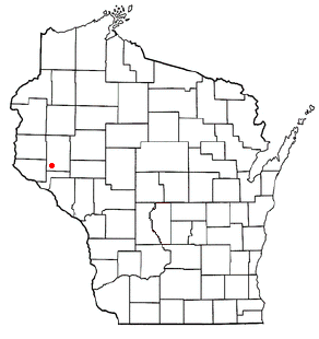 Eau Galle, Dunn County, Wisconsin Town in Wisconsin, United States