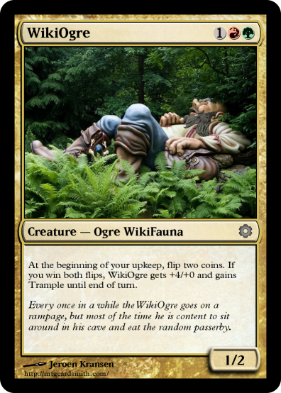 File:WikiOgre MTG Card png - Wikimedia Commons
