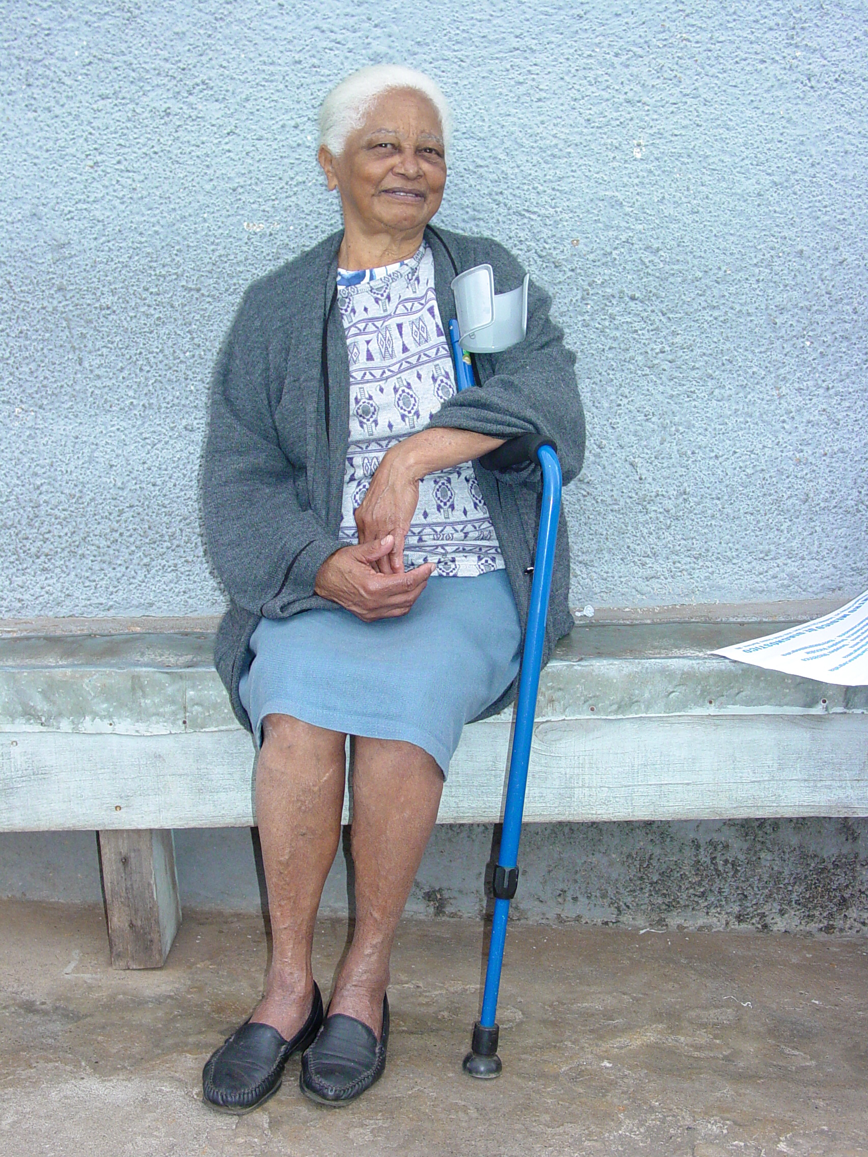 Age Home: File:Woman In Old-Age Home
