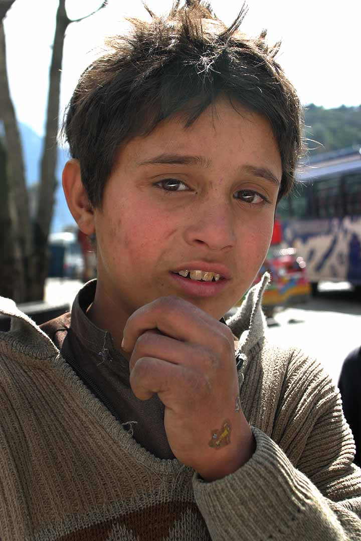 Description Young Boy From Northern Pakistan