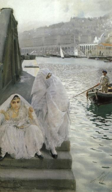 Dans le port d'Alger