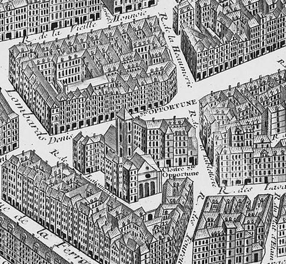 Fichier:Église Sainte-Opportune - Turgot map of Paris.jpg