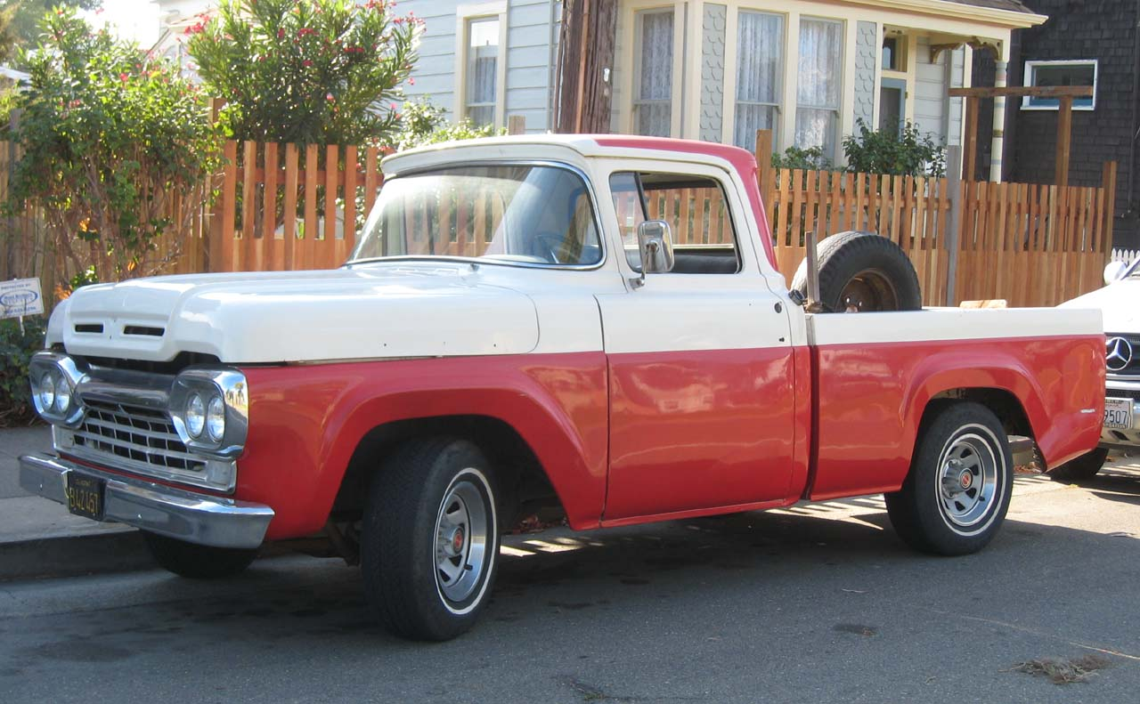 Ford F Debadged on 1963 ford unibody custom cab
