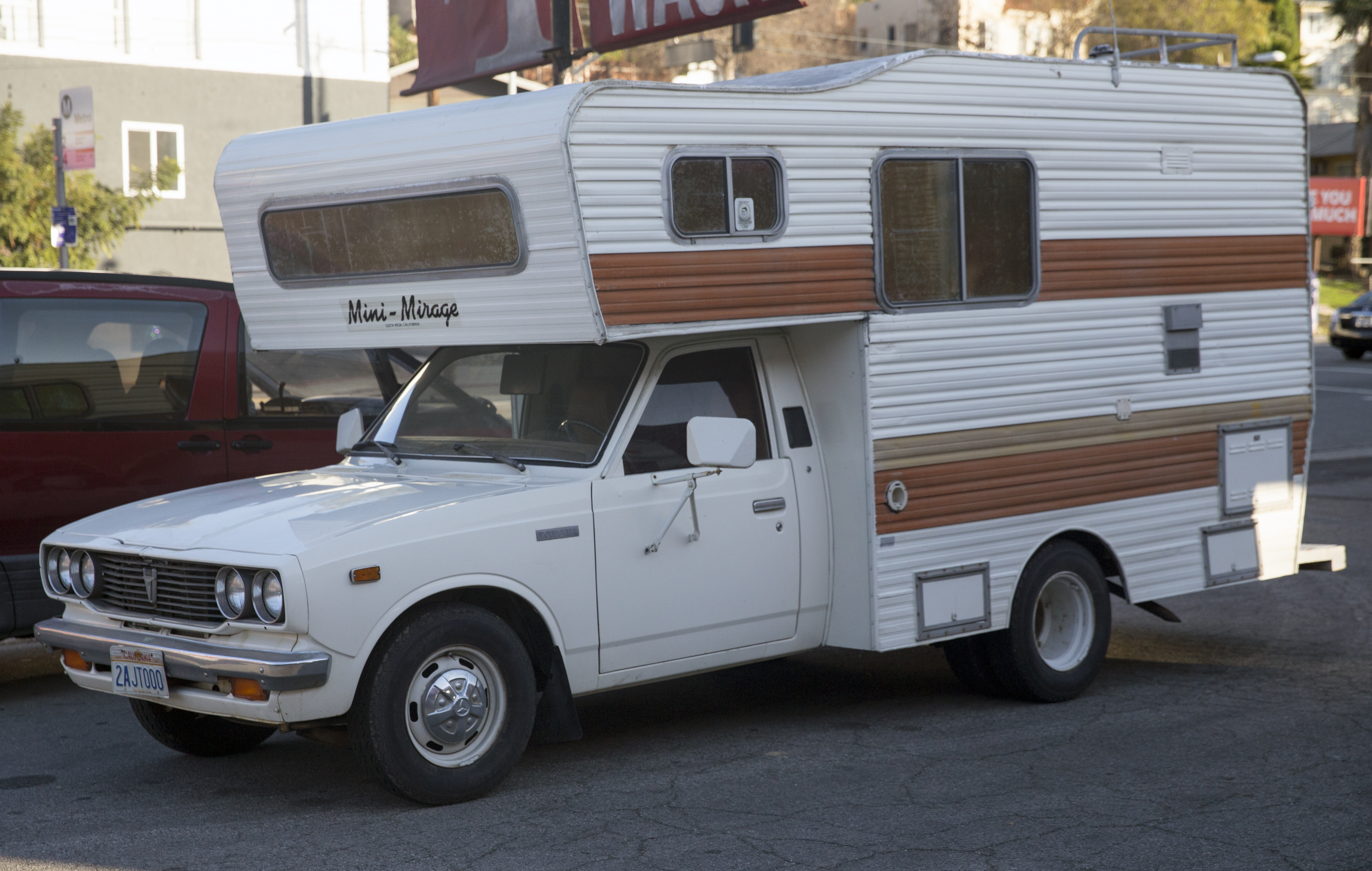 File 1978 Toyota Pickup With Mini Mirage Camper Front Left Jpg