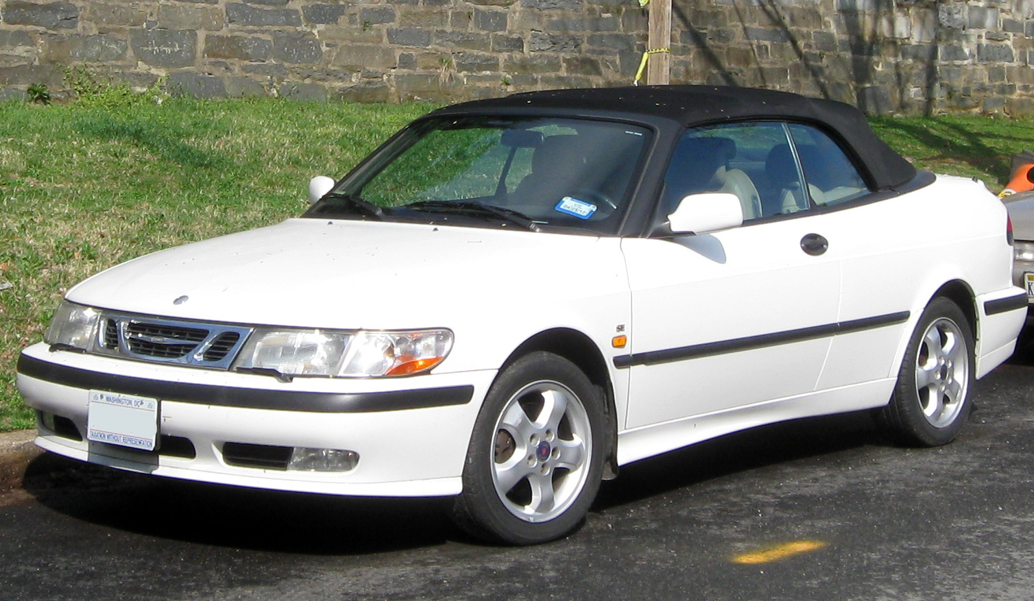 file 1st saab 9 3 convertible 03 20 2012 jpg wikimedia commons. Black Bedroom Furniture Sets. Home Design Ideas