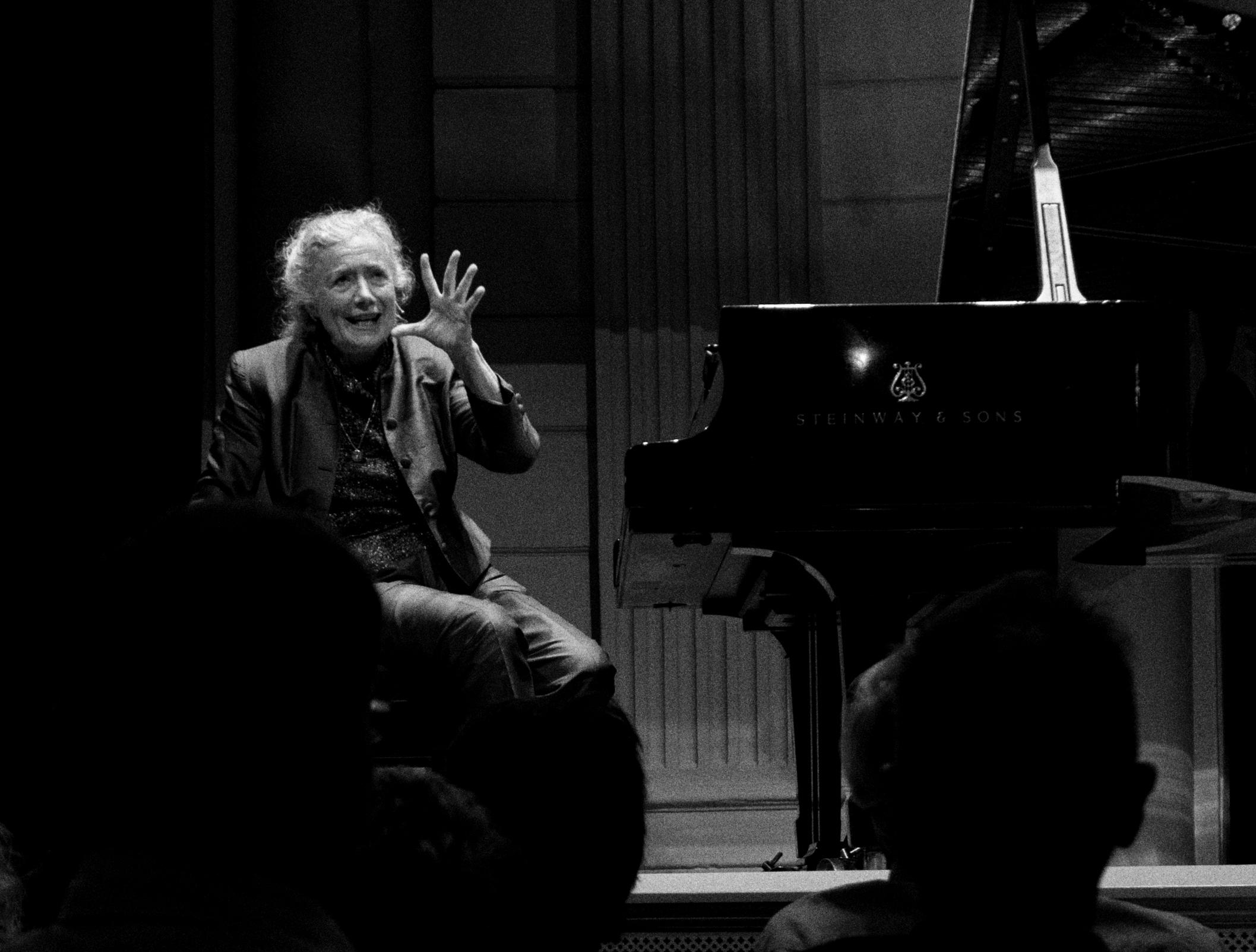Barbara Nissman at the [[Concertgebouw]], 2017
