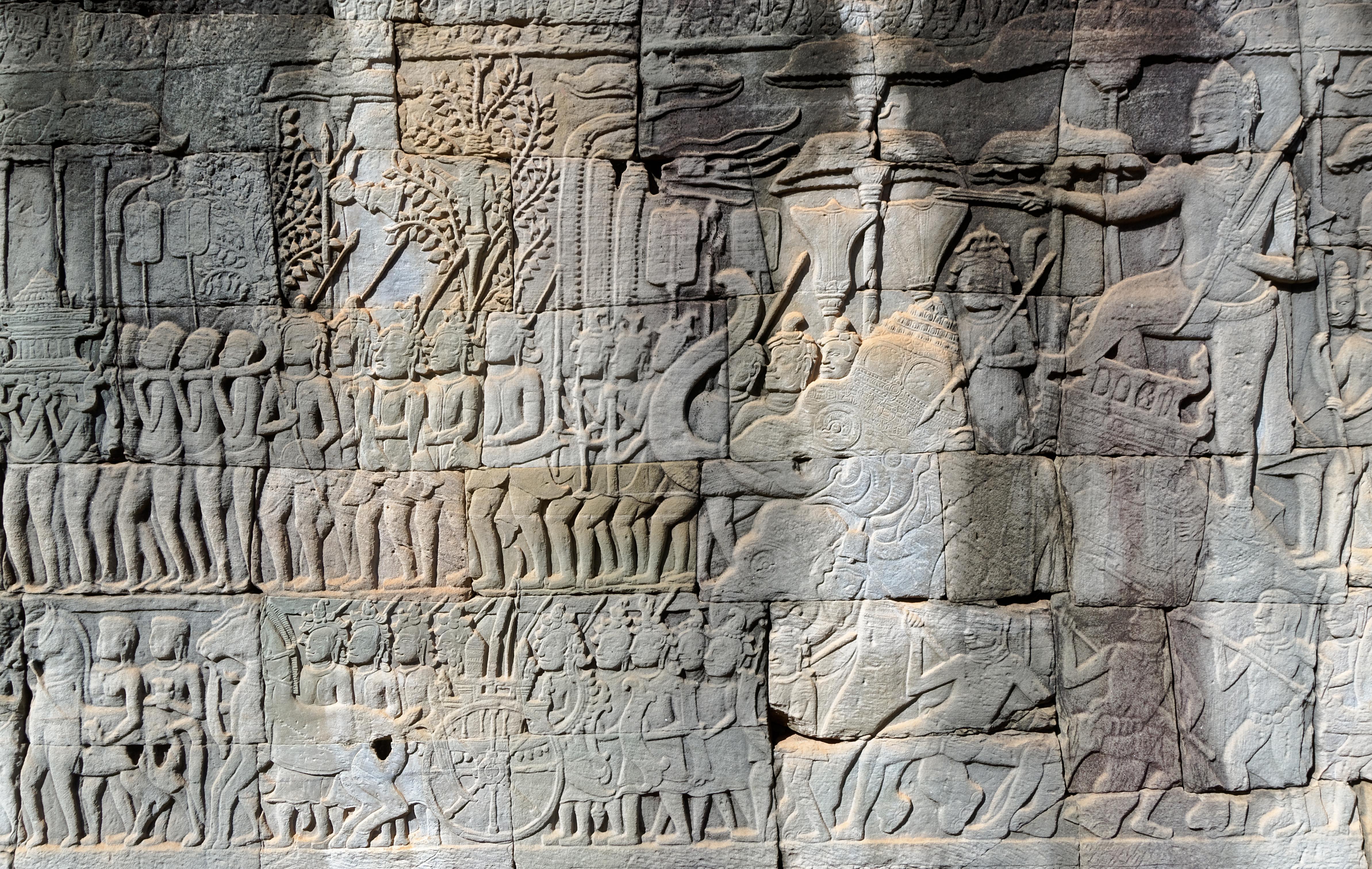 Art Travels: Bayon Temple
