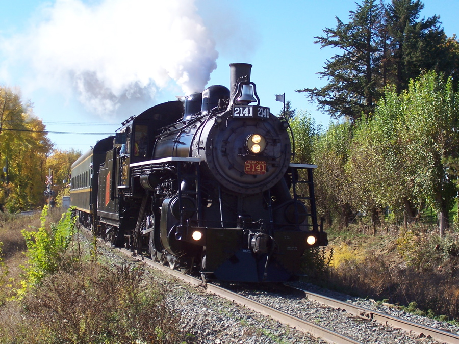 Alberta Prairie Steam Train Tours